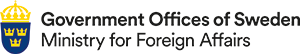 Logo Government Office of Sweden - Ministry of Foreign Affairs